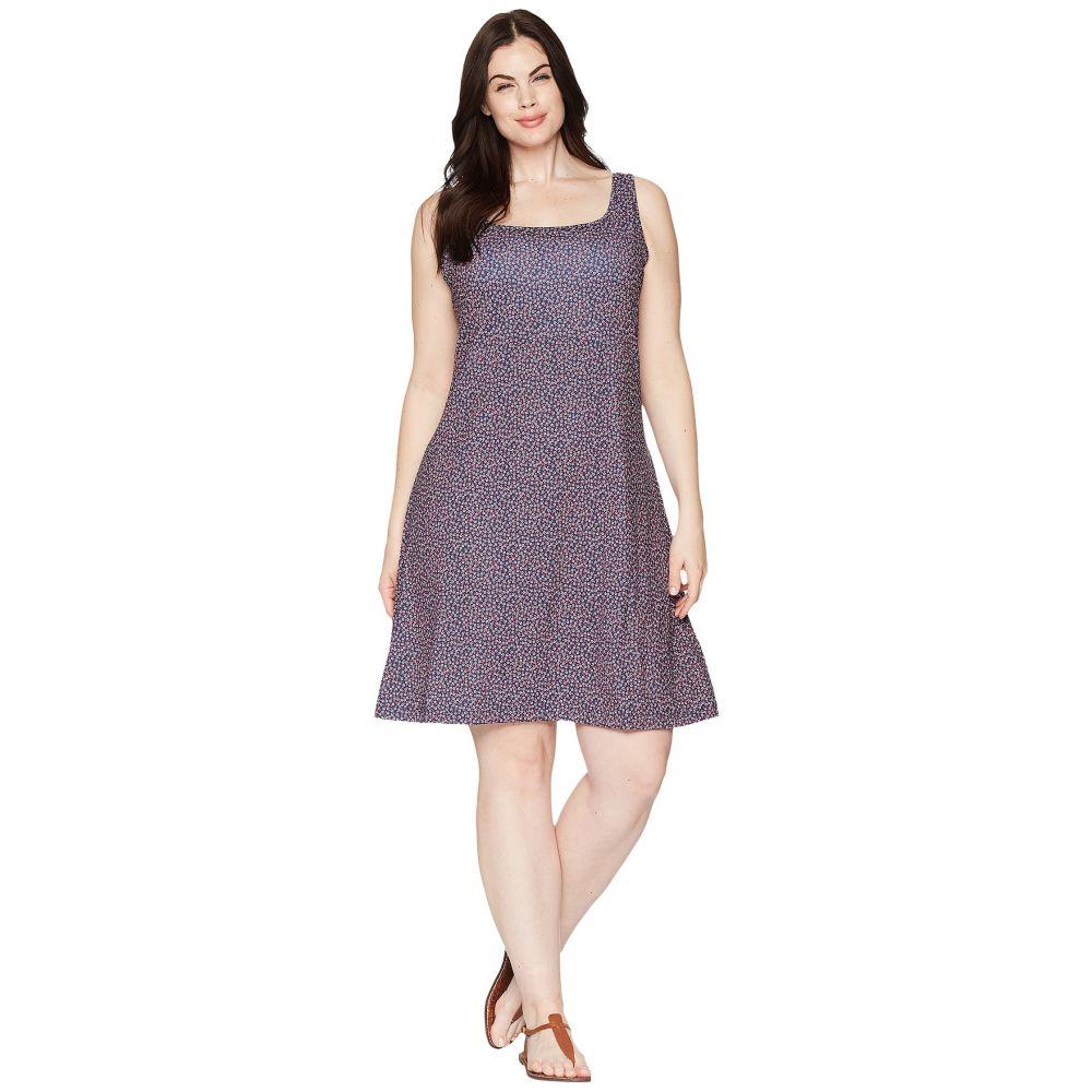 コロンビア レディース ワンピース・ドレス ワンピース【Plus Size Freezer III Dress】Collegiate Navy Lighthouse Print