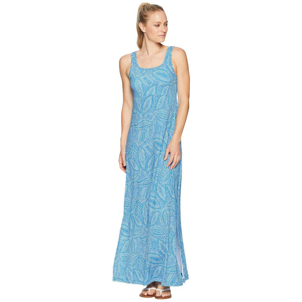 コロンビア レディース ワンピース・ドレス ワンピース【Freezer Maxi Dress】Blue Macaw Mosaic Print