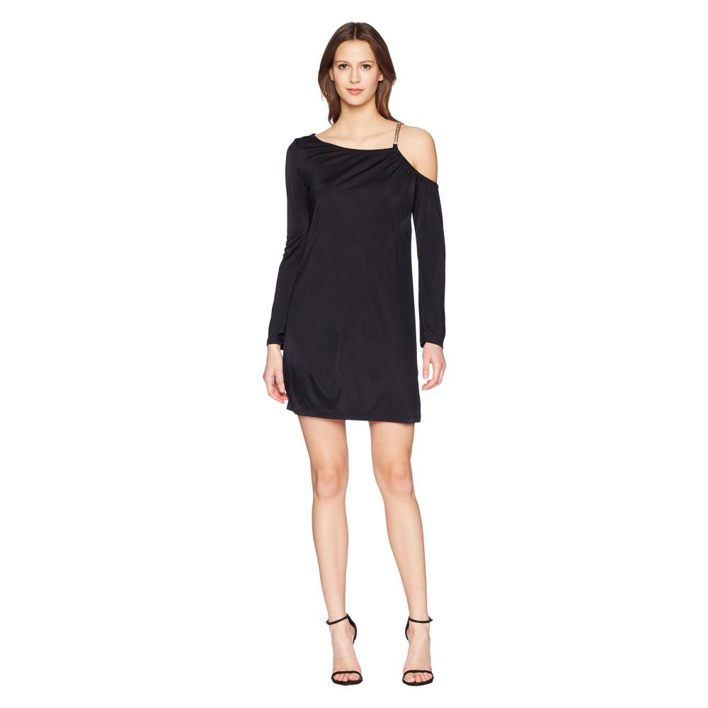 ヴェルサーチ レディース ワンピース・ドレス ワンピース【Abito Donna Chain Strap Dress】Nero
