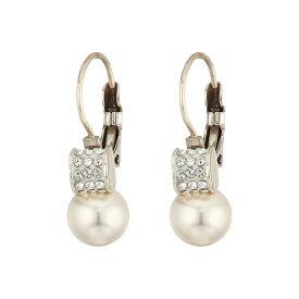 ブライトン レディース ジュエリー・アクセサリー イヤリング・ピアス【Meridian Petite Pearl Leverback Earrings】Pearl