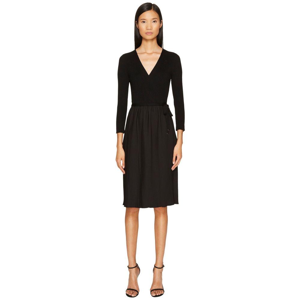 エスカーダ レディース ワンピース・ドレス ワンピース【Dapleat Long Sleeve Dress】Black