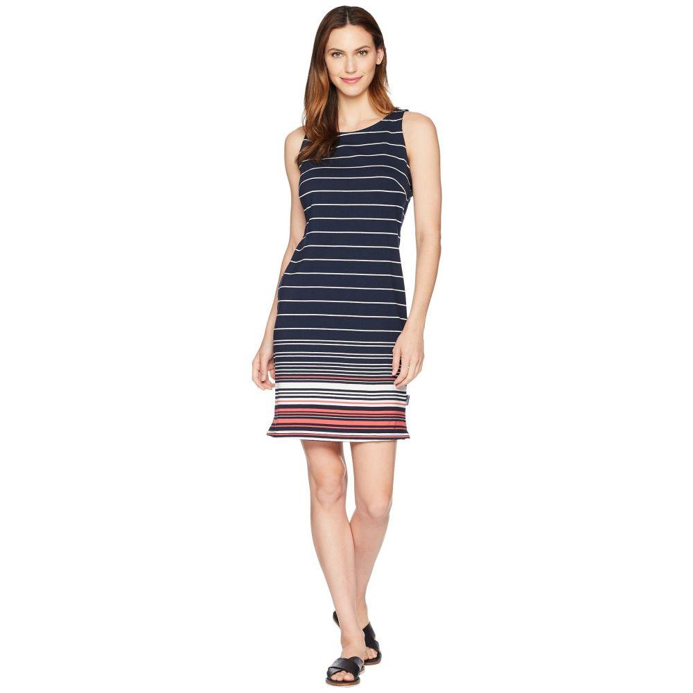 コロンビア レディース ワンピース・ドレス ワンピース【Harborside Knit Sleeveless Dress】Collegiate Navy Stripe