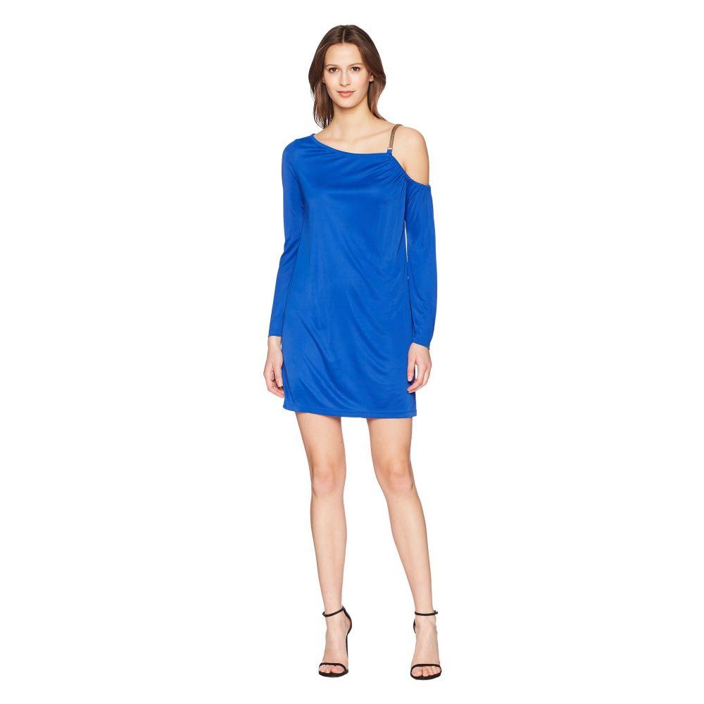 ヴェルサーチ レディース ワンピース・ドレス ワンピース【Abito Donna Chain Strap Dress】Bluette