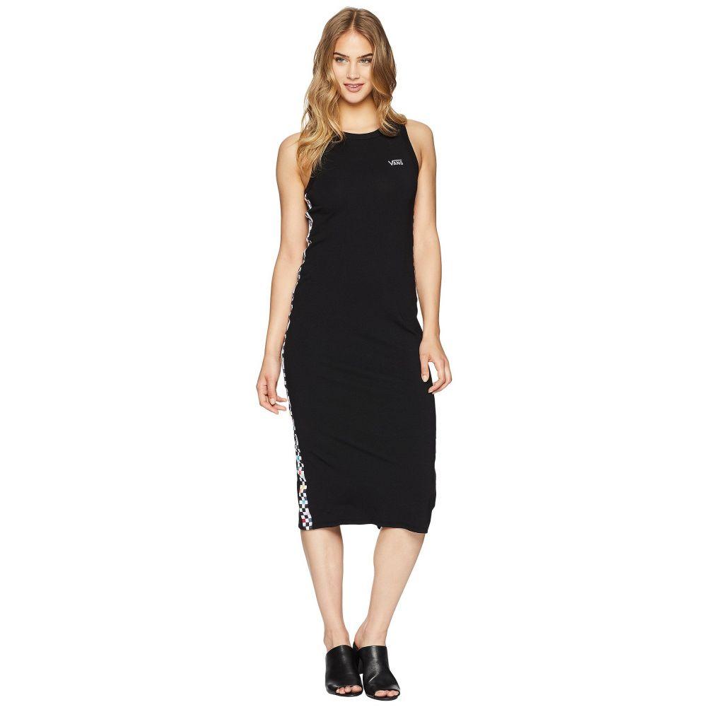 ヴァンズ レディース ワンピース・ドレス ワンピース【Checkered Dress】Black