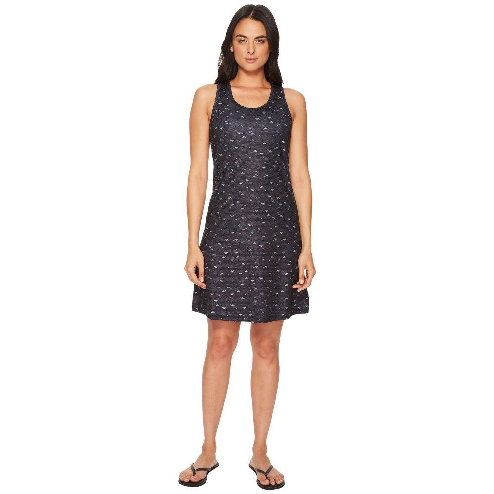 コロンビア レディース ワンピース・ドレス ワンピース【Saturday Trail II Knit Dress】Black Mountain Triangles Print