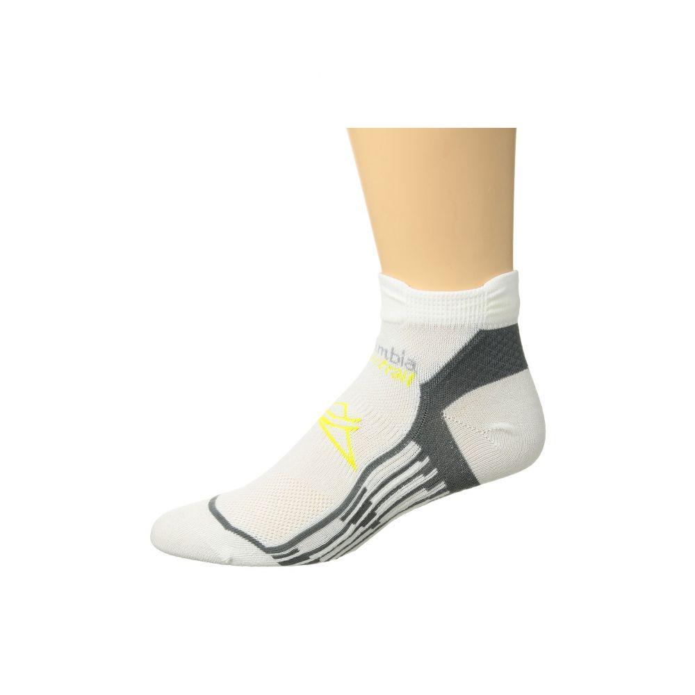 コロンビア レディース ランニング・ウォーキング【Trail Running Nilit Breeze Lightweight Low Cut Socks 1-Pack】White