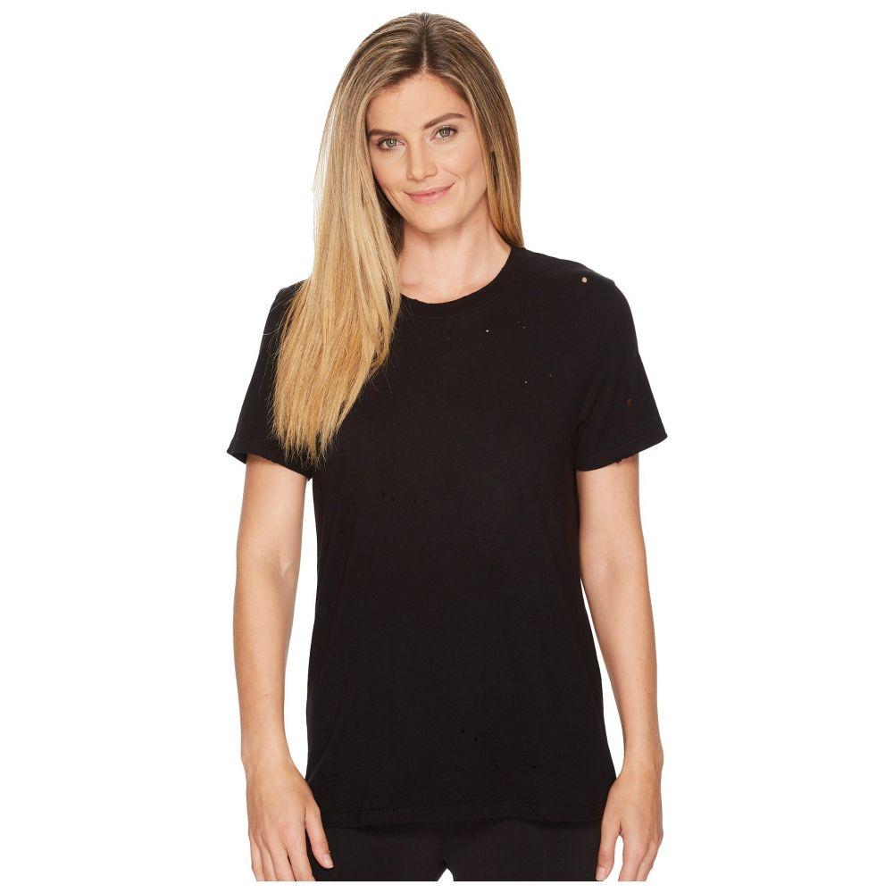アロー レディース トップス Tシャツ【Ripped T-Shirt】Black