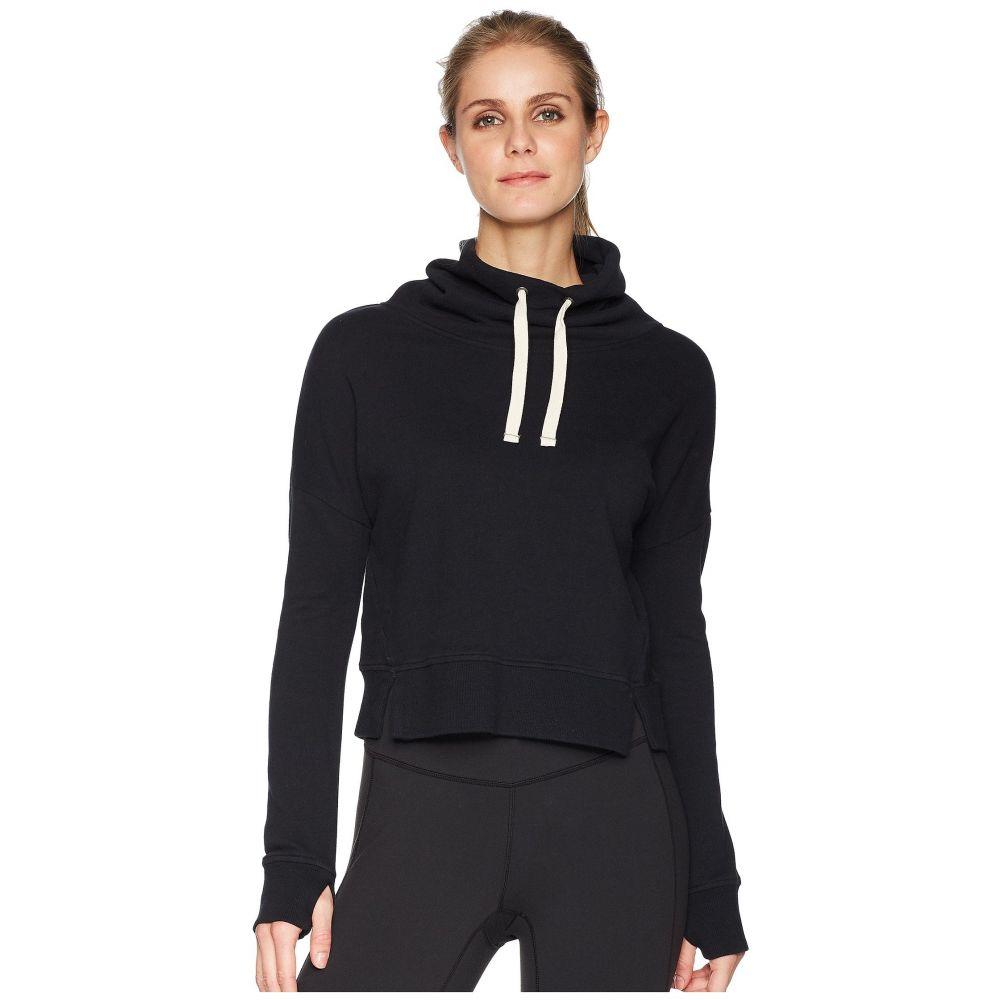 アグ レディース トップス スウェット・トレーナー【French Terry Miya Funnel Neck Sweatshirt】Black