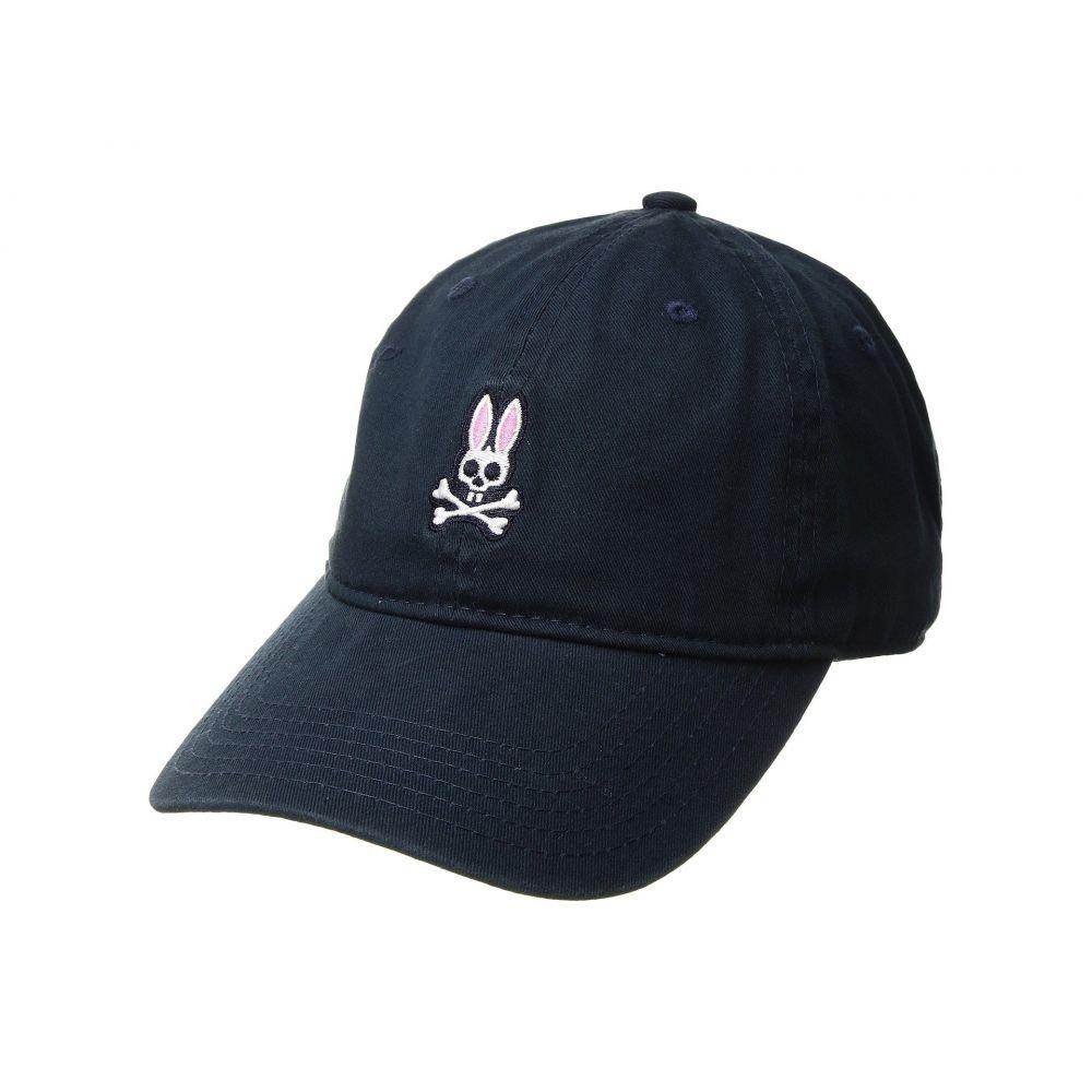 サイコバニー メンズ 帽子 キャップ【Sunbleached Cap】Navy