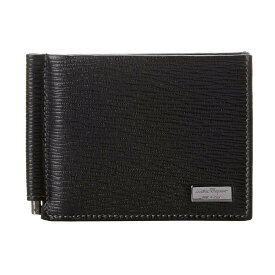 049a6a6cbc7f サルヴァトーレ フェラガモ メンズ 財布【Revival Bifold Wallet with Money Clip】Nero