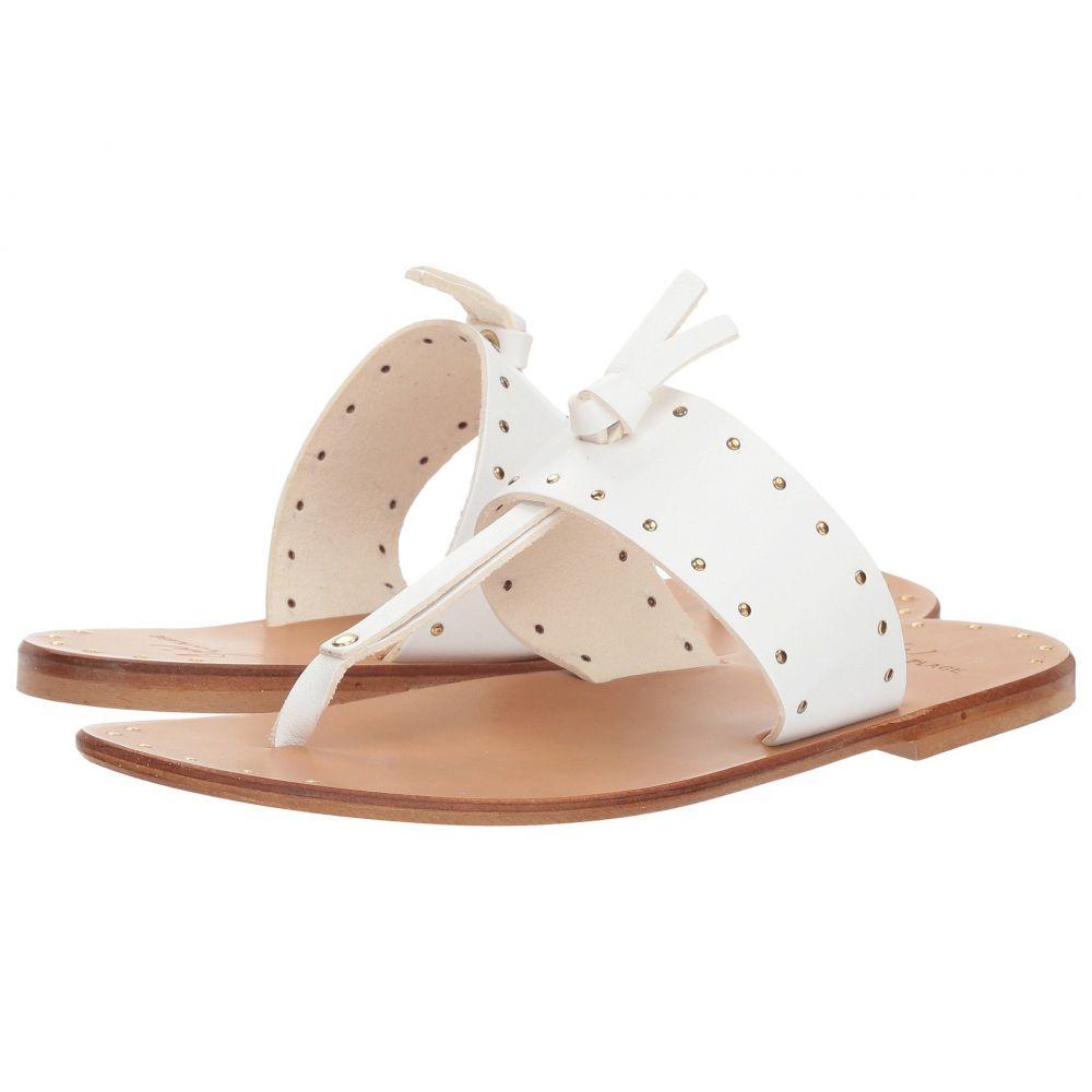 ジョア レディース シューズ・靴 サンダル・ミュール【Baeli Stud】White Vacchetta