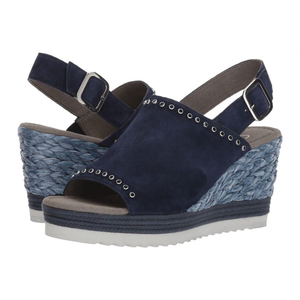 ガボール レディース シューズ・靴 サンダル・ミュール【Gabor 85.791】Blue Samtchevreau