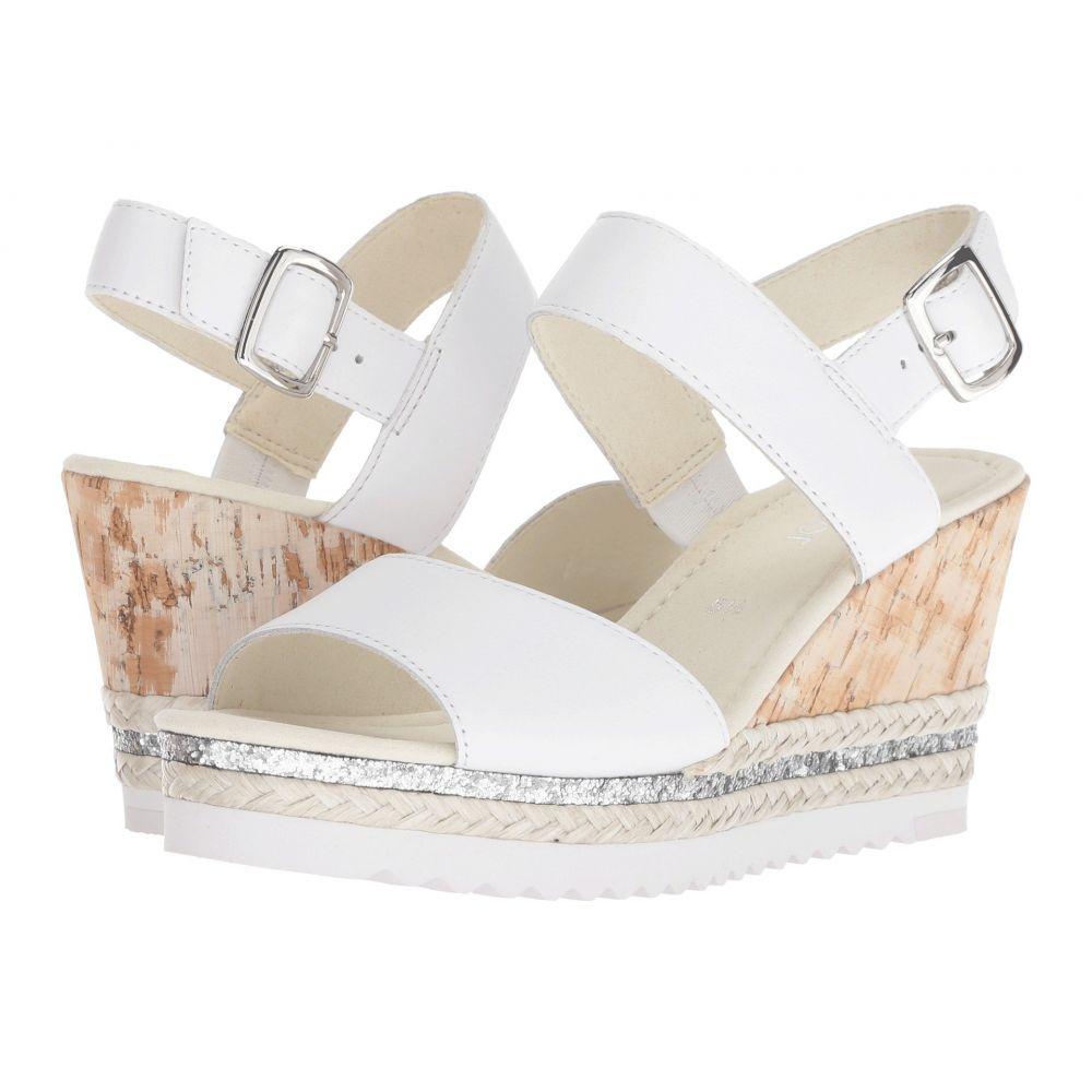 ガボール レディース シューズ・靴 サンダル・ミュール【Gabor 85.790】White Foulardcalf