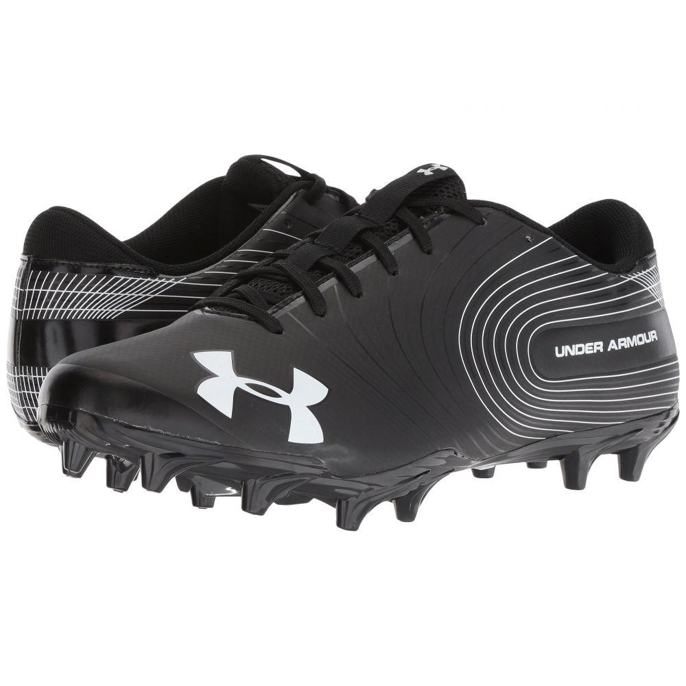 アンダーアーマー メンズ アメリカンフットボール シューズ・靴【UA Speed Phantom MC】Black/White