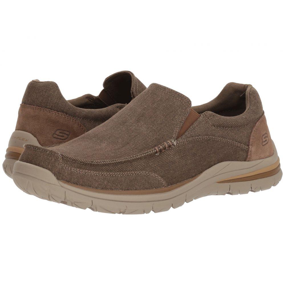 スケッチャーズ メンズ シューズ・靴 ローファー【Classic Fit Superior 2.0 - Vorado】Brown
