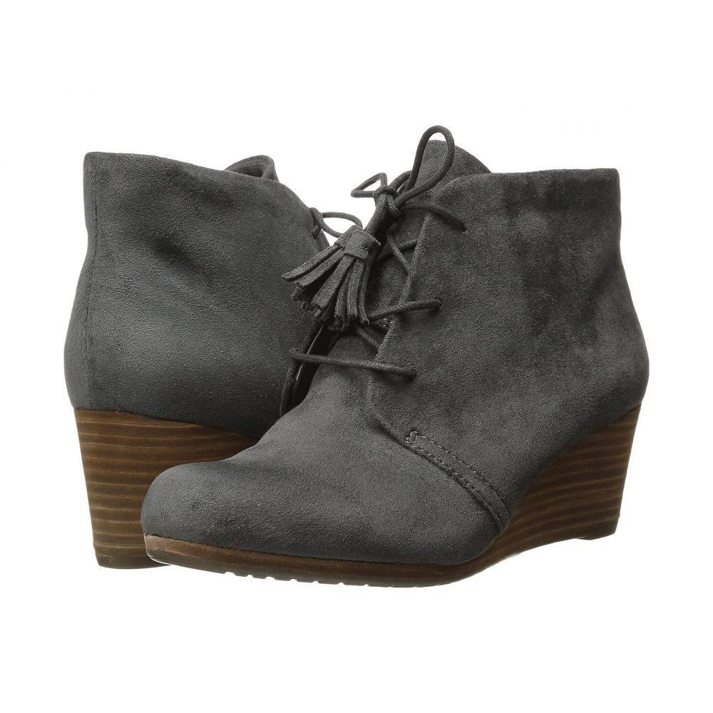 ドクター ショール レディース シューズ・靴 ブーツ【Dakota】Grey Microsuede