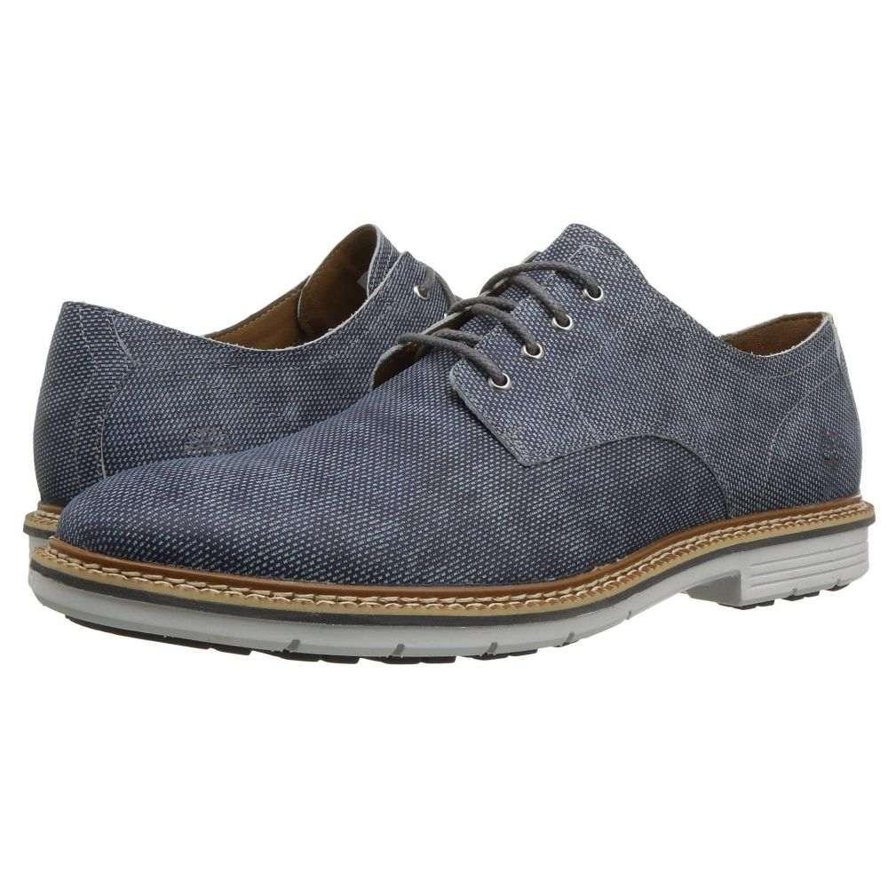 ティンバーランド メンズ シューズ・靴 革靴・ビジネスシューズ【Naples Trail Oxford】Dark Blue Printed Nubuck