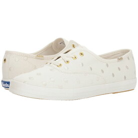 ケイト スペード Keds x kate spade new york レディース シューズ・靴 スニーカー【Bridal Champion Dancing Dot】Pristine Canvas