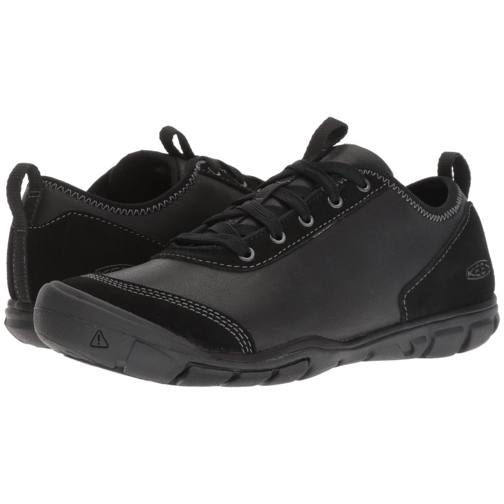キーン Keen レディース ランニング・ウォーキング シューズ・靴【Hush Leather】Black