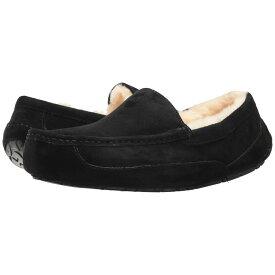 アグ UGG メンズ シューズ・靴 スリッパ【Ascot - WIDE】Black Suede