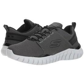 スケッチャーズ SKECHERS メンズ ランニング・ウォーキング シューズ・靴【Overhaul Primba】Charcoal/Black