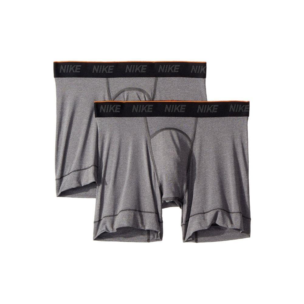 ナイキ Nike メンズ インナー・下着 ボクサーパンツ【Brief Boxer 2-Pair Pack】Anthracite/Black/White