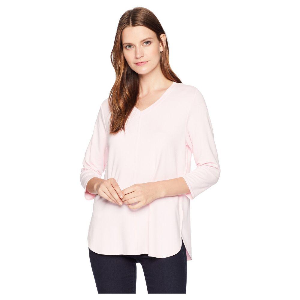 エフディジェイフレンチ FDJ French Dressing Jeans レディース トップス 長袖Tシャツ【Baby French Terry V-Neck 3/4 Sleeve Top】Rose