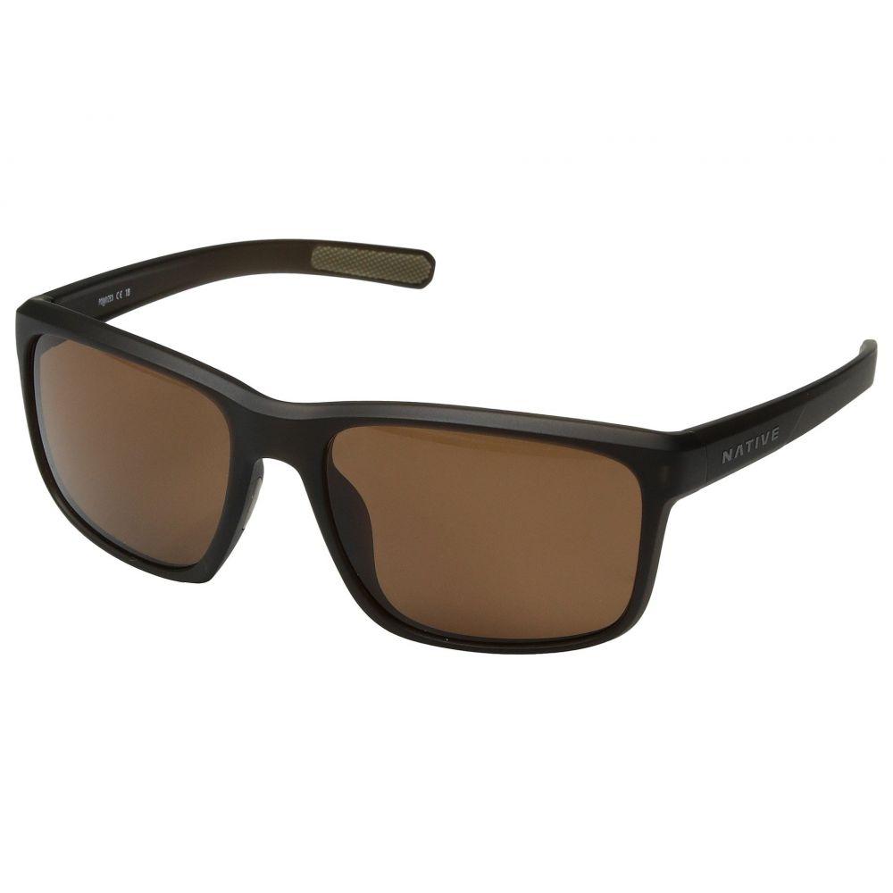 ネイティブアイウェア Native Eyewear レディース メガネ・サングラス【Wells】Matte Brown Crystal/Brown Polarized Lens