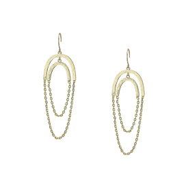 フレンチコネクション French Connection レディース ジュエリー・アクセサリー イヤリング・ピアス【Chain Orbit Earrings】Gold
