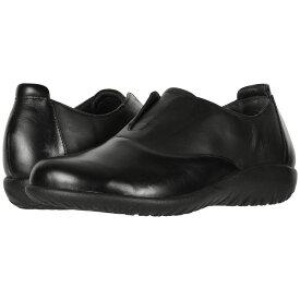 ナオト Naot レディース シューズ・靴 ローファー・オックスフォード【Karo】Black Madras Leather/Jet Black Leather