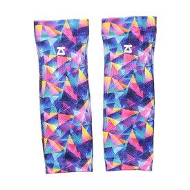 ゼンサー Zensah レディース フィットネス・トレーニング サポーター【Limited Edition Compression Leg Sleeves】Retro Triangles