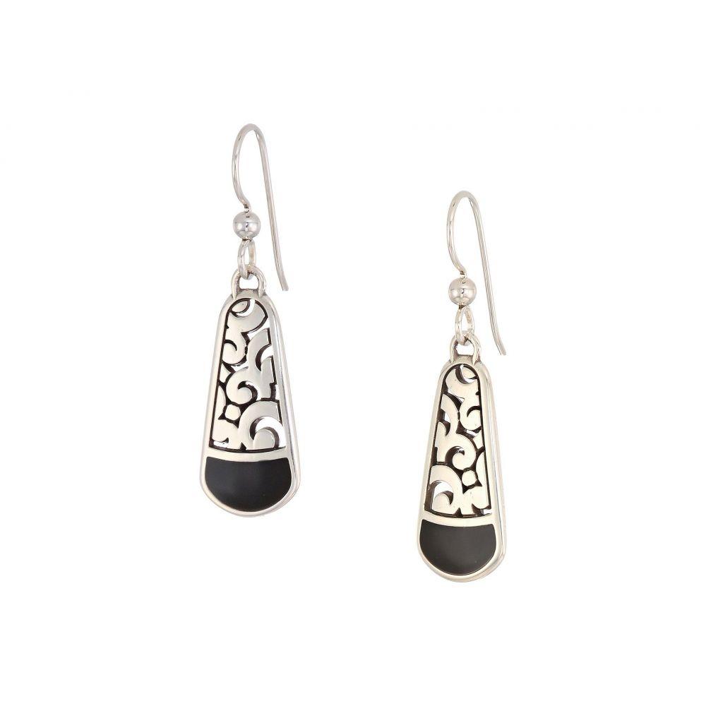 ブライトン Brighton レディース ジュエリー・アクセサリー イヤリング・ピアス【Catania French Wire Earrings】Black