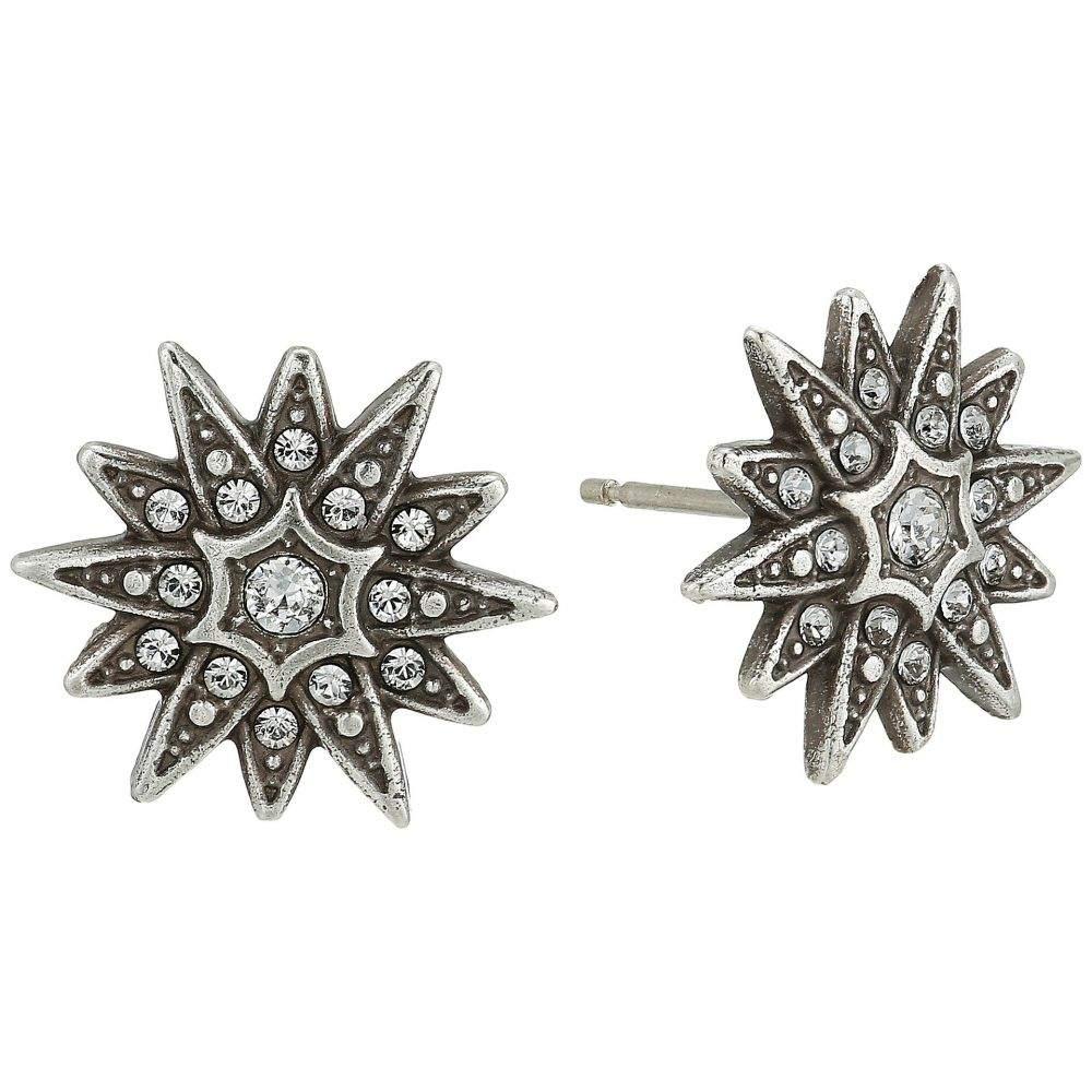 ブライトン Brighton レディース ジュエリー・アクセサリー イヤリング・ピアス【Contempo Starburst Earrings】Silver