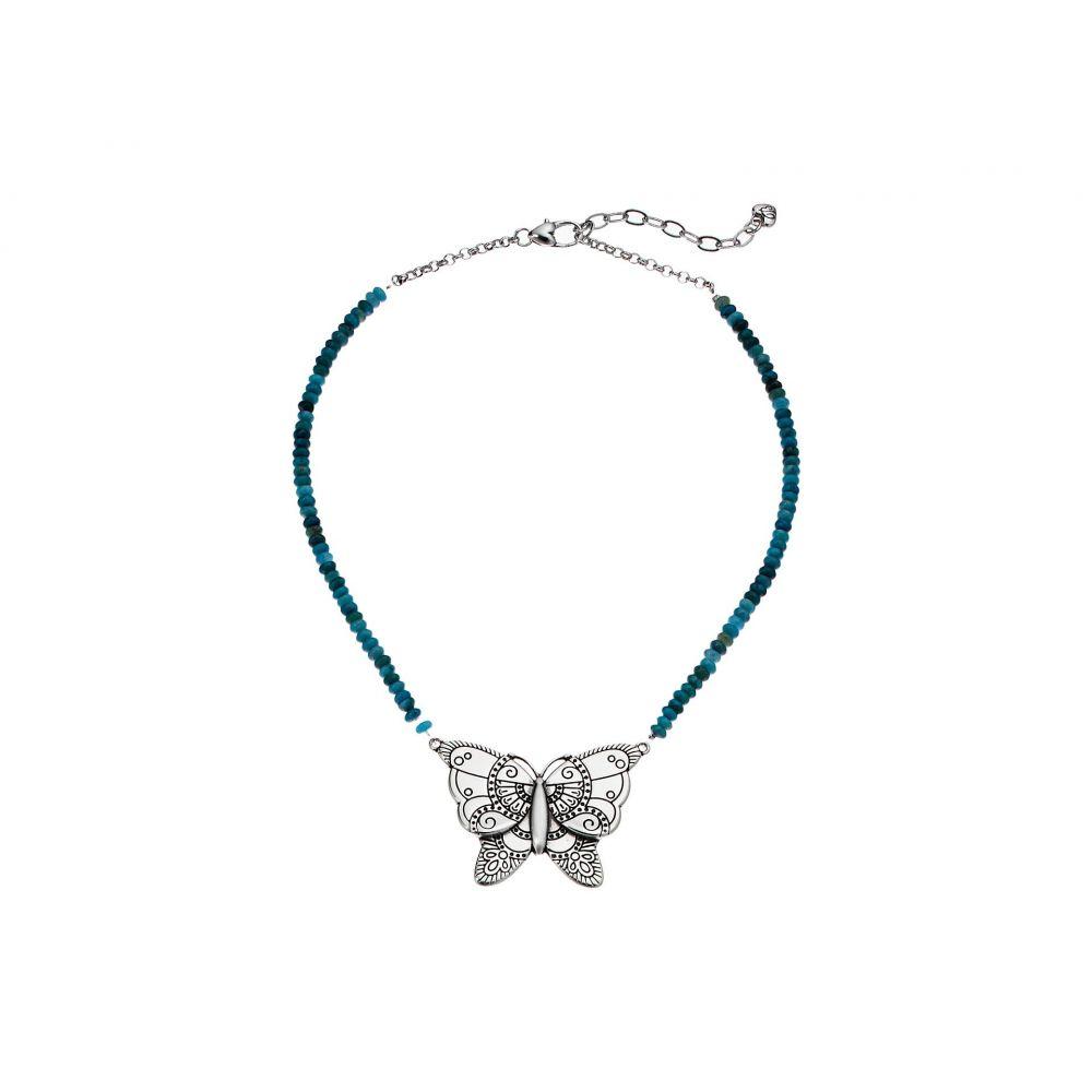 ブライトン Brighton レディース ジュエリー・アクセサリー ネックレス【Marrakesh Oasis Butterfly Necklace】Turquoise
