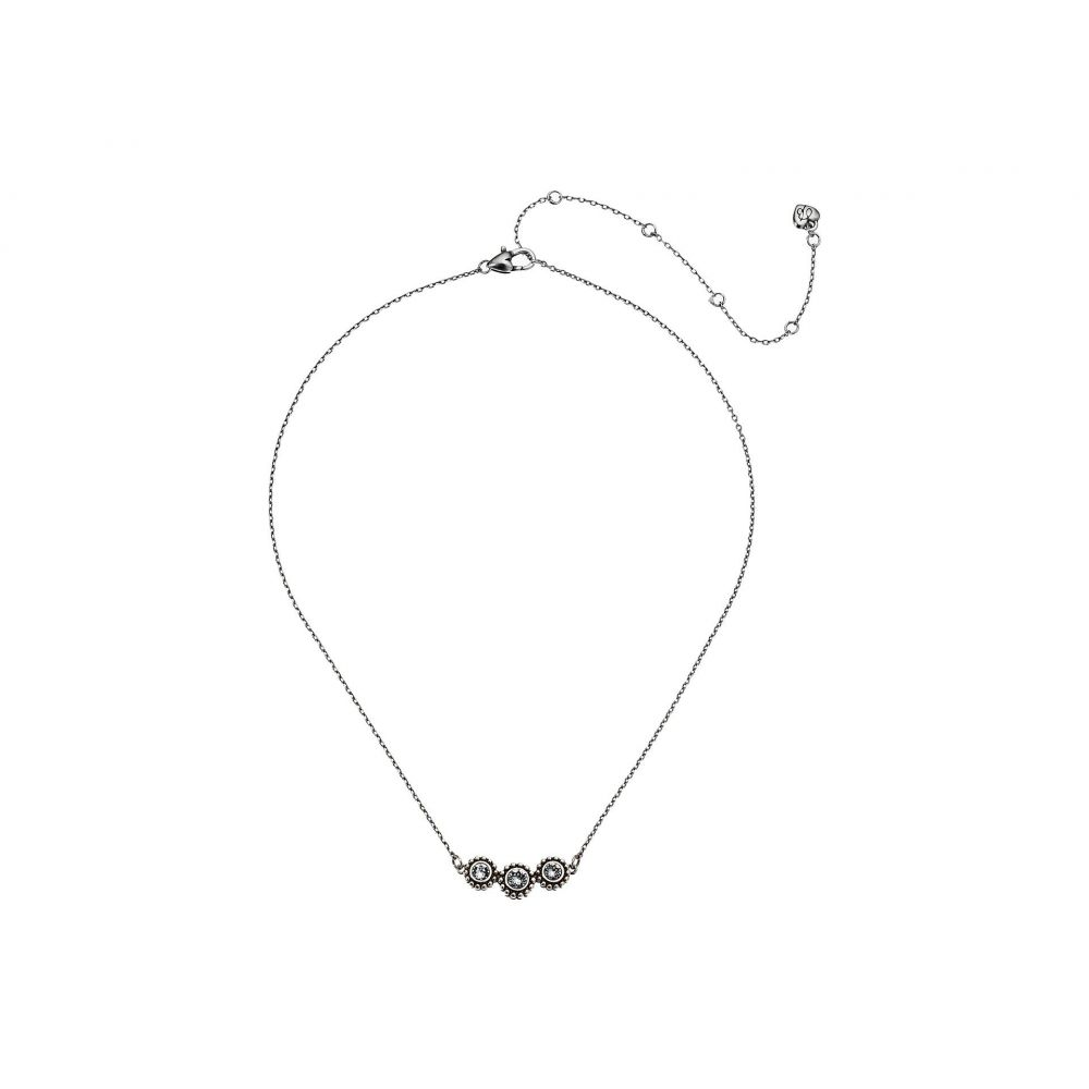 ブライトン Brighton レディース ジュエリー・アクセサリー ネックレス【Twinkle Triple Stone Necklace】Crystal