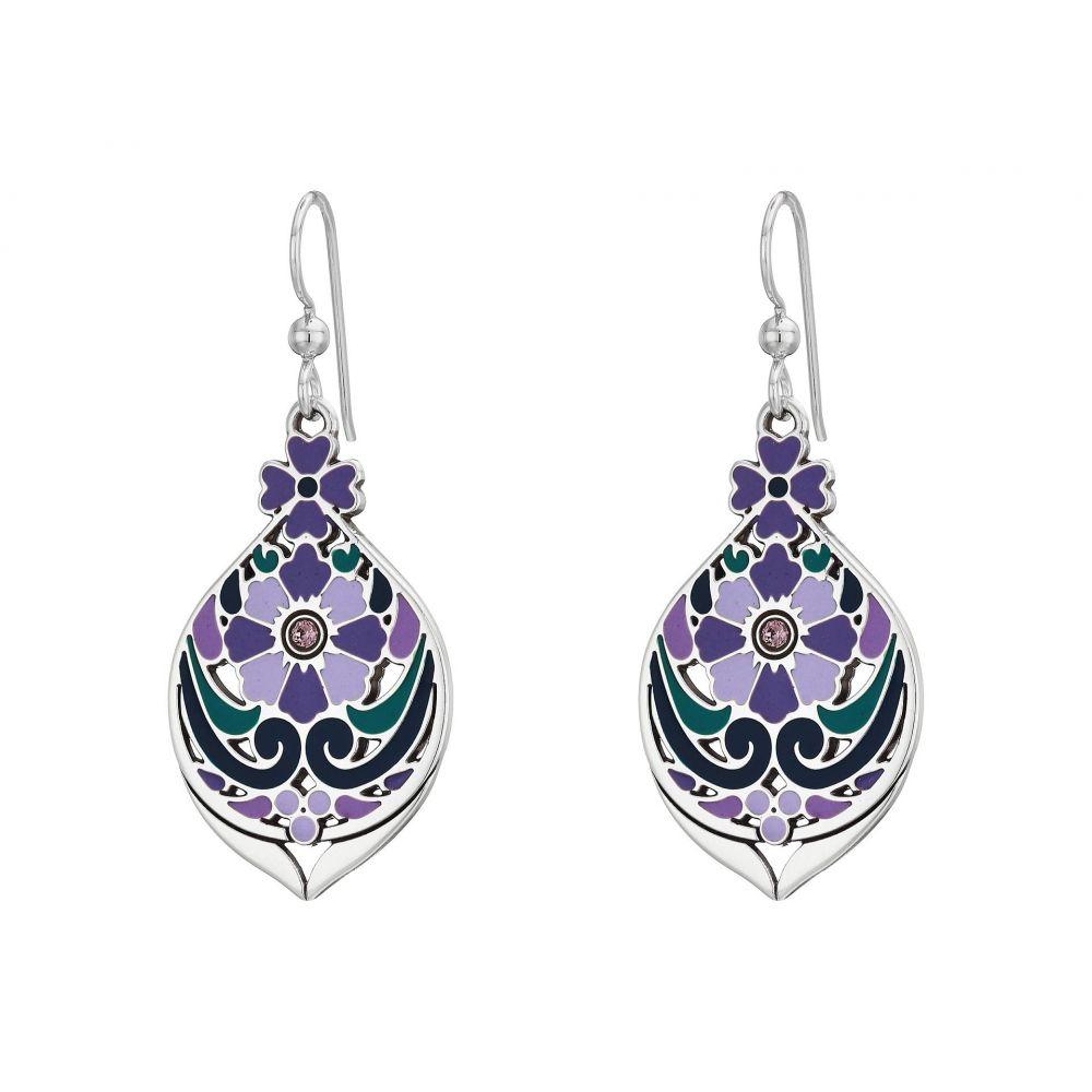 ブライトン Brighton レディース ジュエリー・アクセサリー イヤリング・ピアス【Casablanca Jewel Multi French Wire Earrings】Purple