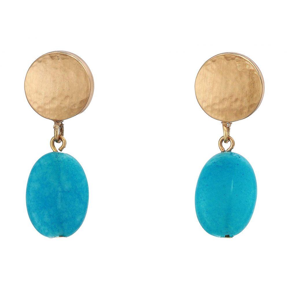 ブライトン Brighton レディース ジュエリー・アクセサリー イヤリング・ピアス【Mediterranean Post Drop Earrings】Turquoise