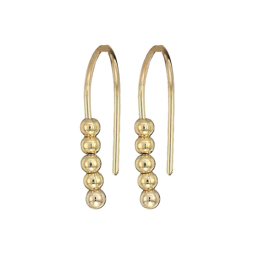 フレンチコネクション French Connection レディース ジュエリー・アクセサリー イヤリング・ピアス【Small Dot Drop Earrings】Gold