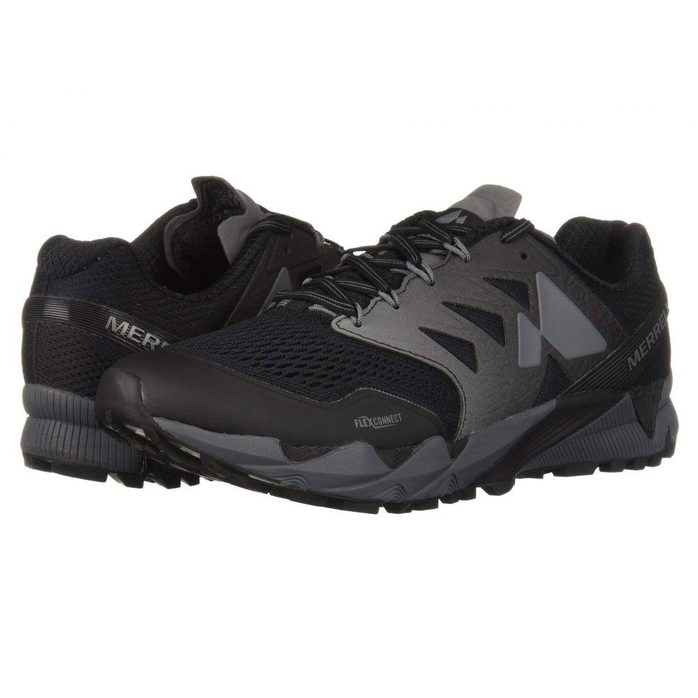 メレル Merrell メンズ ランニング・ウォーキング シューズ・靴【Agility Peak Flex 2 E-Mesh】Black 2