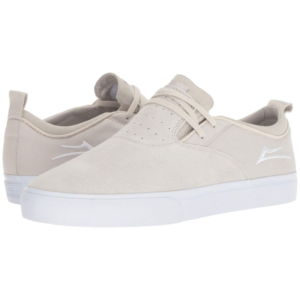 ラカイ Lakai メンズ シューズ・靴【Riley Hawk 2】White Suede