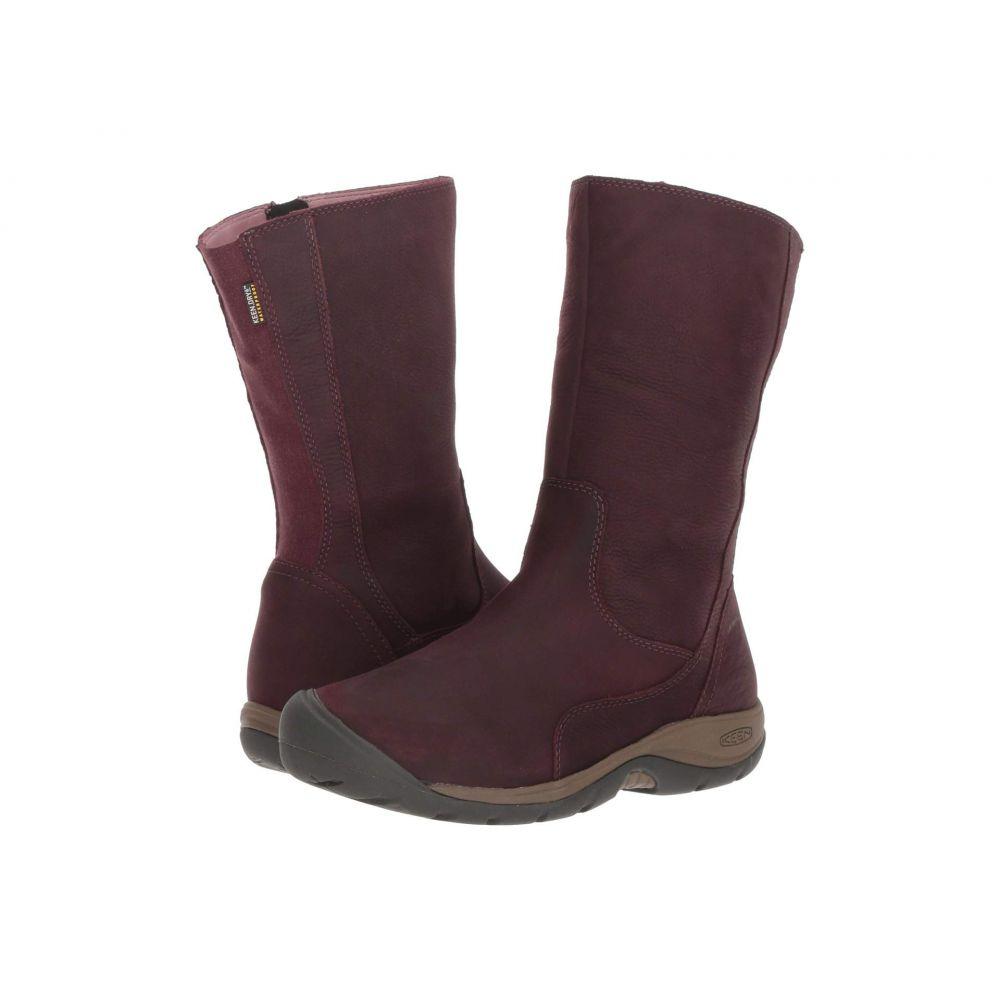 キーン Keen レディース シューズ・靴 レインシューズ・長靴【Presidio II Waterproof Boot】Winetasting