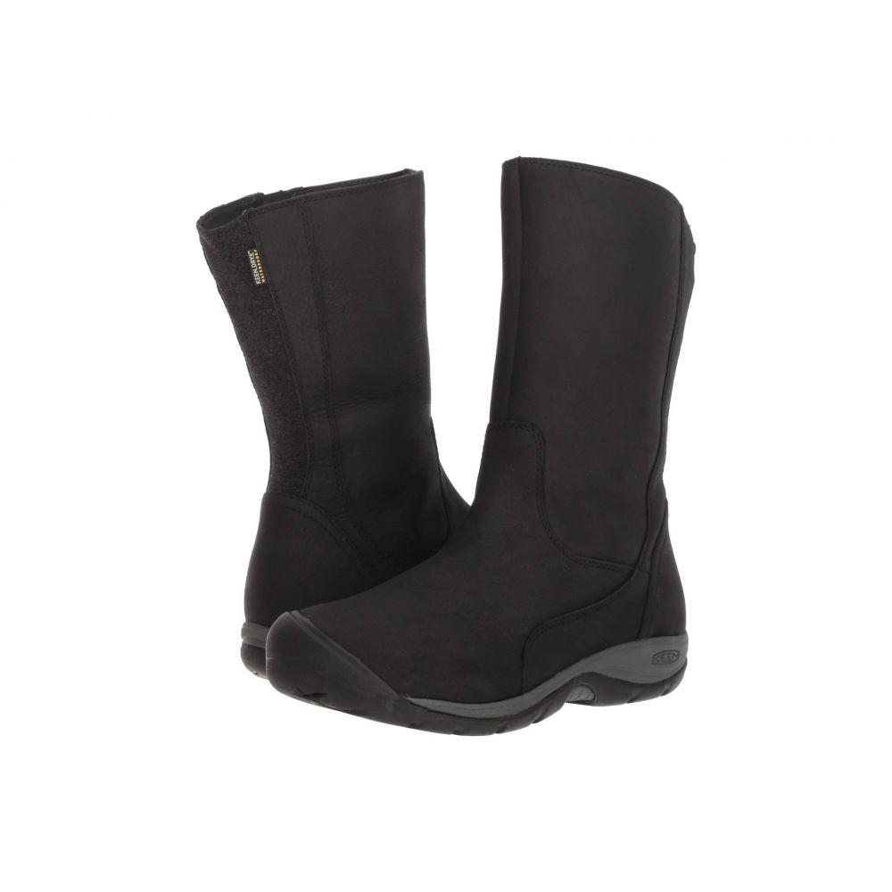 キーン Keen レディース シューズ・靴 レインシューズ・長靴【Presidio II Waterproof Boot】Black/Magnet