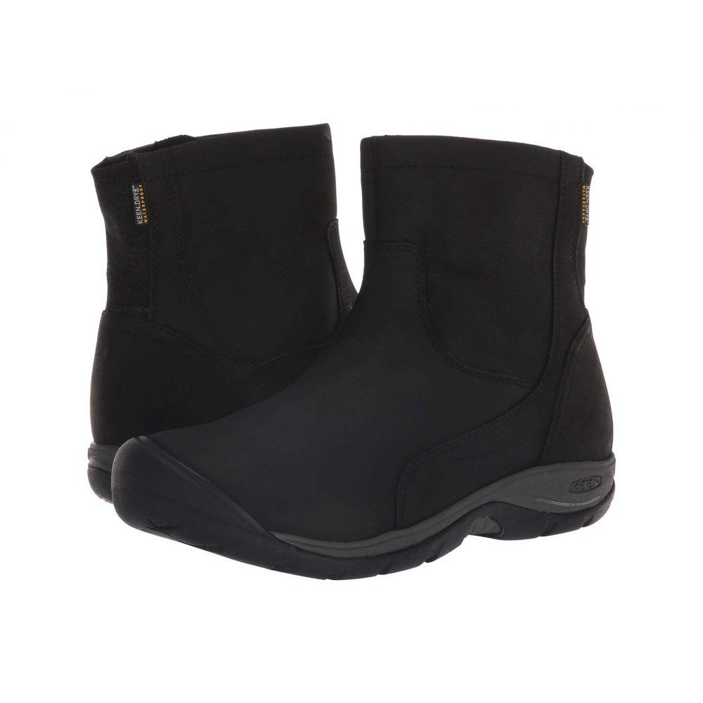 キーン Keen レディース シューズ・靴 レインシューズ・長靴【Presidio II Waterproof Mid Zip Boot】Black/Magnet