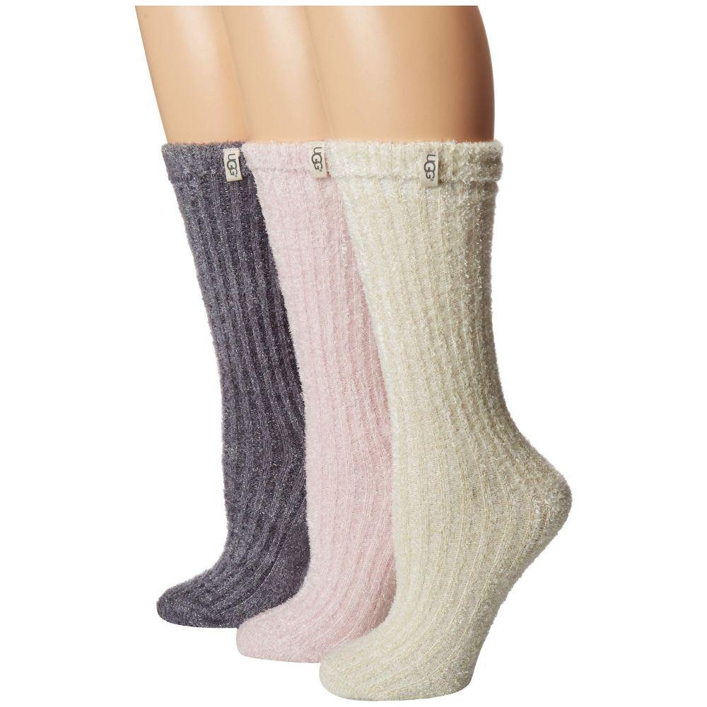 アグ UGG レディース インナー・下着 ソックス【Cozy Sparkle Socks Gift Set】Multi