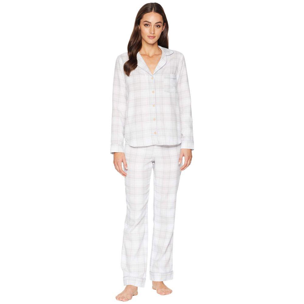 アグ UGG レディース インナー・下着 パジャマ・上下セット【Raven Woven Sleepwear Set Flannel Gift】Lavender Aura Plaid