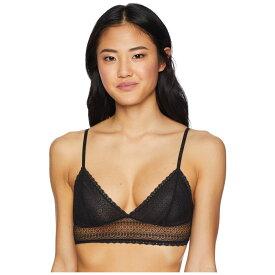ダナ キャラン ニューヨーク DKNY Intimates レディース インナー・下着 ブラレット【Mix Match Lace Bralette】Black