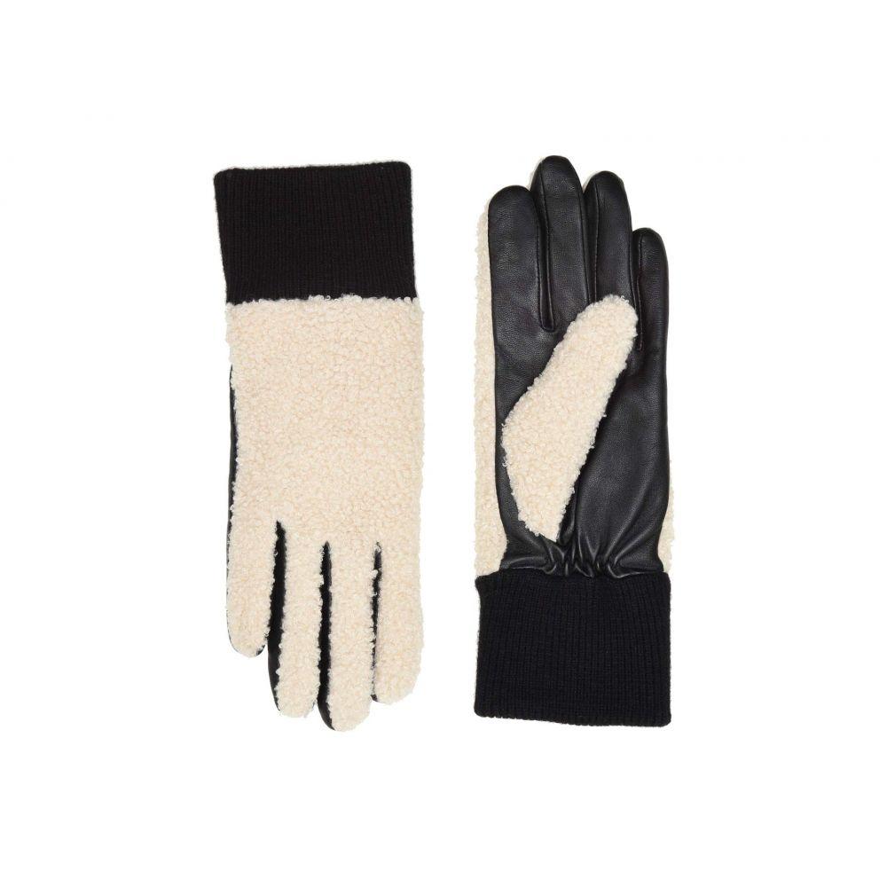 アグ UGG レディース 手袋・グローブ【Faux Sherpa Tech Gloves】Natural