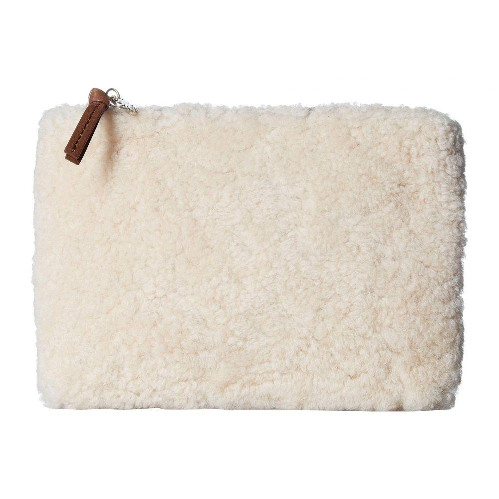 アグ UGG レディース ポーチ【Medium Zip Pouch Sheepskin】Natural