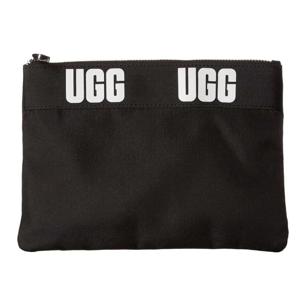 アグ UGG レディース ポーチ【Medium Zip Pouch Sport】Black