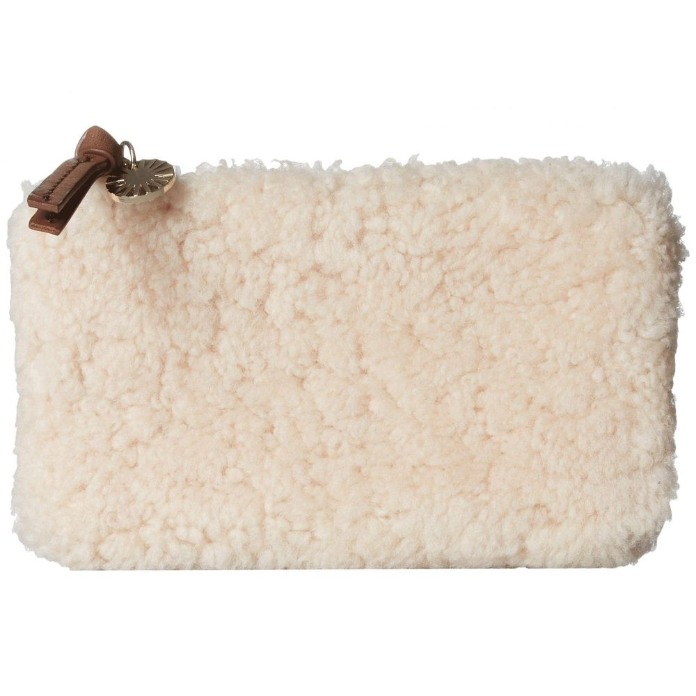 アグ UGG レディース ポーチ【Small Zip Pouch Sheepskin】Natural